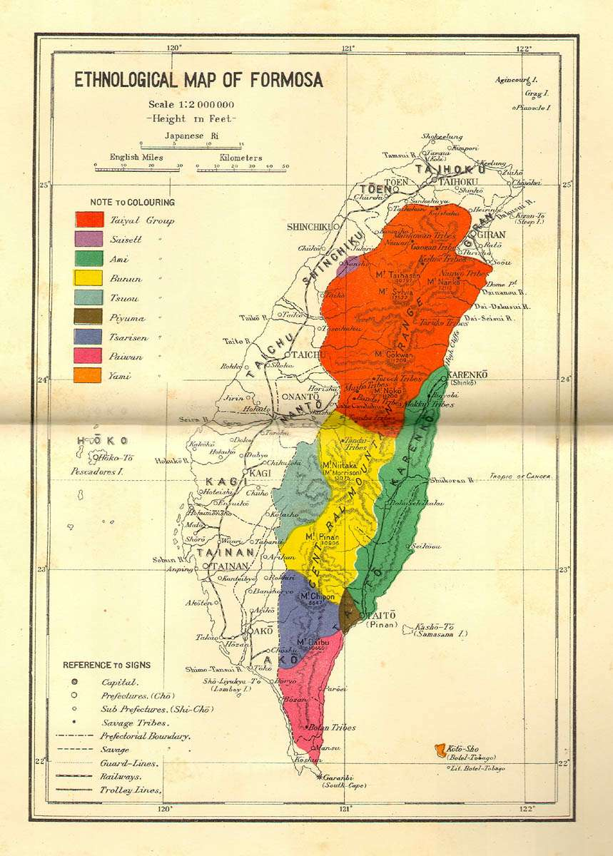 Map of the Week: Japanese Control of Aboriginals in Taiwan Korean War Map Of Formosa on map of cuban missile crisis, map of pre world war 1, map of afghan war, map of world war 11, map of u.s. civil war, map of great war, map of nigerian civil war, map of vietnam war, map of world war i, map of gulf war, map of korean peninsula, map of berlin blockade, map of detente, map of islamic war, map of pacific war, map of korea, map of indian war, map of first indochina war, map of air force, map of asia,